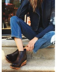 Free People | Blue Below Sunset Clog Boot | Lyst
