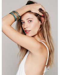Free People - Metallic Best Of The Best Hard Bangles - Lyst