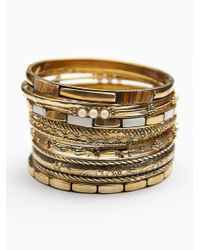 Free People | Multicolor Best Of The Best Hard Bangles | Lyst