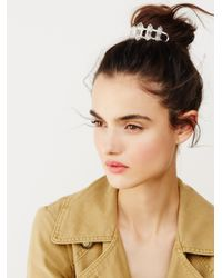 Free People | Metallic Beyond Stars Bun Pin | Lyst
