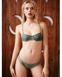 Free People Multicolor Byron Bikini Top Byron Bikini Bottom