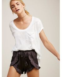 Free People | Multicolor Cascading Petal Short | Lyst