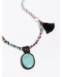 Free People - Metallic Maverick Embellished Pendant - Lyst