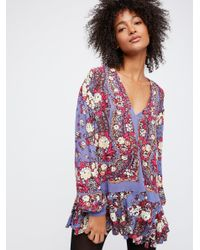 Free People - Multicolor Lovely Dreams Print Tunic - Lyst