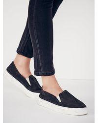 Free People - Black Clayton Slip On Sneaker - Lyst