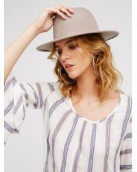 Free People | Multicolor Clean Slate Felt Hat | Lyst