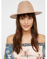 Free People | Multicolor Clean Slate Felt Hat | Lyst