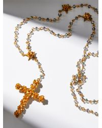 Free People | Multicolor Coronation Crystal Rosary | Lyst
