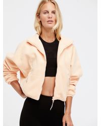 Free People Natural Higher Ground Fleece