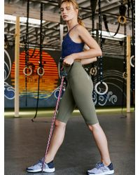 Free People Green Ultra-high-rise Part Of Me Bike Shorts By Fp Movement
