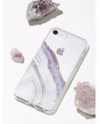 Free People Multicolor Accessories Tech Iphone Cases Prismatic Iphone Case