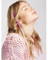 Free People   Pink Dip Dye Hair Extension   Lyst