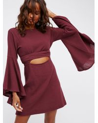 Free People Multicolor Dreamin About This Mini Dress