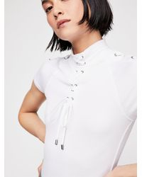 Free People - White All Tied Up Top - Lyst