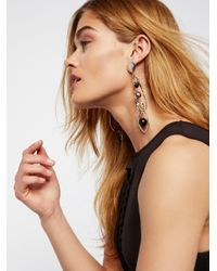 Free People | Multicolor 'round The Town Hoops | Lyst