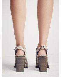 Free People - Multicolor Silver Storm Mule By Fp Collection - Lyst