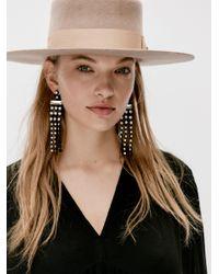 Free People Natural Bandit Felt Hat