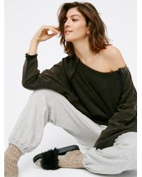 Free People | Black East Meets West Pullover | Lyst