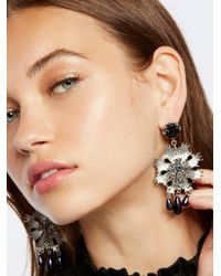 Free People | Metallic Victorian Nights Earrings | Lyst