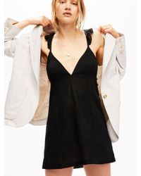 Free People - Natural Simply Perfect Blazer - Lyst