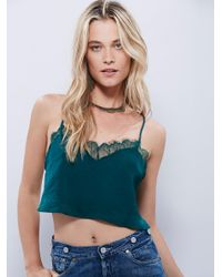 Free People | Green Eclipse Brami | Lyst