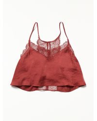 Free People - Red Eclipse Brami - Lyst