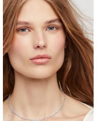 Free People - Blue Essential Stone Necklace - Lyst