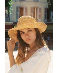 Free People Multicolor Sweet Pea Straw Hat