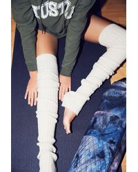 Free People - White Pirouette Leg Warmer - Lyst