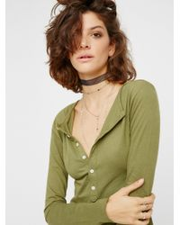 Free People - Green El Topo Dress - Lyst