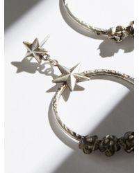 Free People - Metallic Esperanza Coronation Hoop Earrings - Lyst