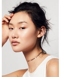 Free People | Metallic Essential Chain Choker | Lyst