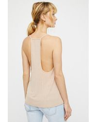 Free People Natural Clothes Tops & Tees Camis & Tanks Slinky Slinky Tank