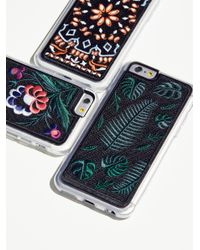 Free People Multicolor Embroidered Iphone Case