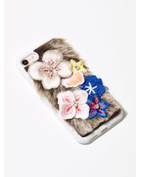 Free People | Multicolor Field Of Flowers Iphone Case | Lyst
