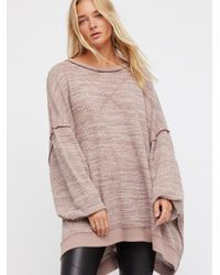 Free People Brown Clothes Tops & Tees Thermals & Henleys We The Free So Fresh Tee