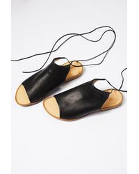Free People Black Sand Dunes Boot Sandal By Latigo