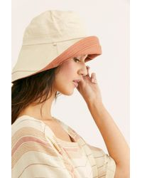 Free People Multicolor Maisy Reversible Canvas Hat