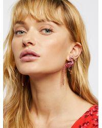Free People - Multicolor Paradise Crystal Earrings - Lyst