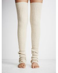 Free People - White Pirouette Leg Warmer - Lyst