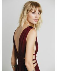 Free People - Purple Feel The Flava Fit And Flare - Lyst