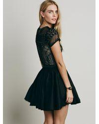 Free People Black Fp One Lola Dress