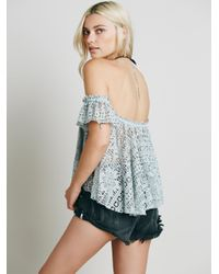 Free People | Blue Free To Be Top | Lyst