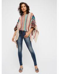 Free People Multicolor Fressia Stripe Pullover