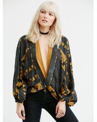 Free People | Multicolor Gemini Drippy Kimono | Lyst