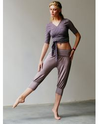 Free People | Gray Genie Pant | Lyst