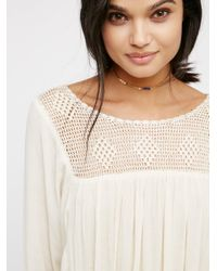 Free People Multicolor Highlands Top