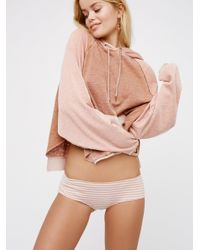 Free People | Pink I Started Something Undie | Lyst