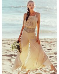 Free People | Natural Kristal's One Piece | Lyst
