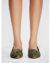 Free People Blue Lakeside Loafer